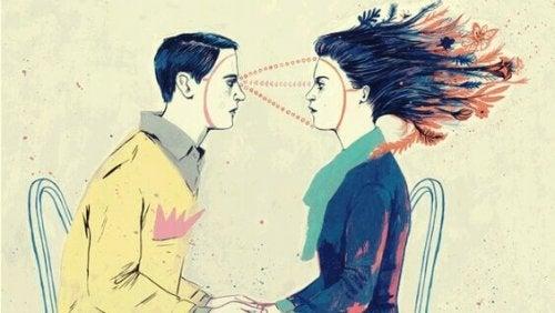 conscience émotionnelle entre homme et femme
