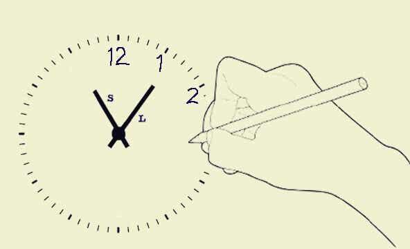 Le test du dessin de l'horloge pour diagnostiquer les maladies et les troubles mentaux