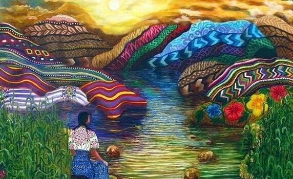paysage amérindien