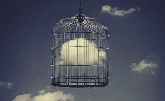 nuages dans une cage