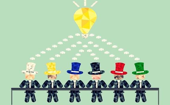 La technique des six chapeaux pour penser par Edward de Bono