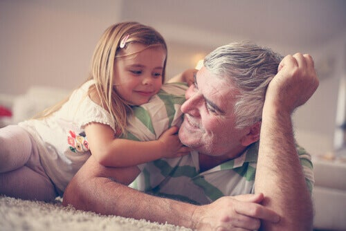les grands-parents amour