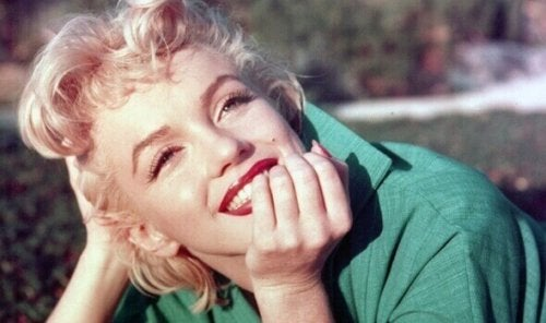 marilyn monroe qui sourit