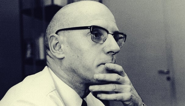 Une photo de Michel Foucault
