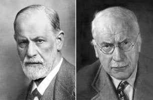 photo de freud et jung