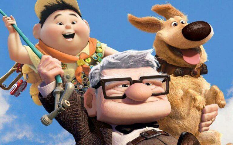 carl, russell et leur chien