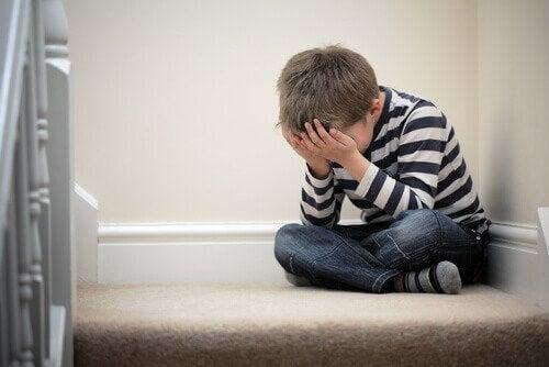 enfant avec des problèmes