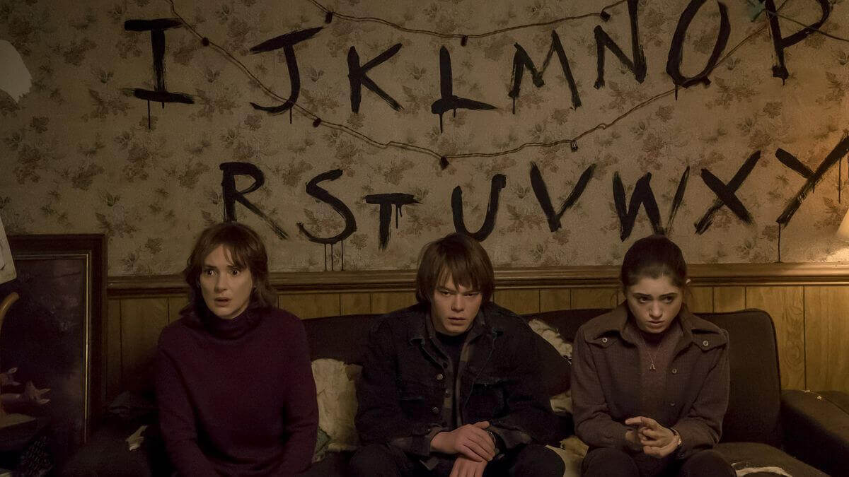 scène de Stranger Things