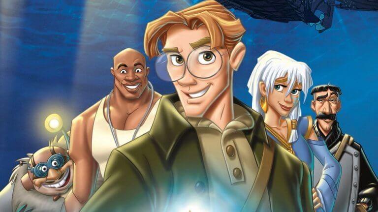 personnages d'atlantis