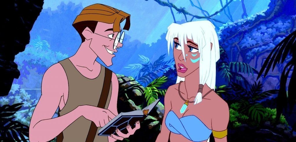 Atlantis, une source précieuse d'inspiration pour les petites filles