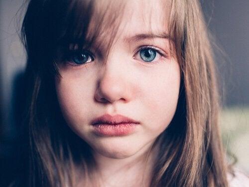 La tristesse chez les enfants