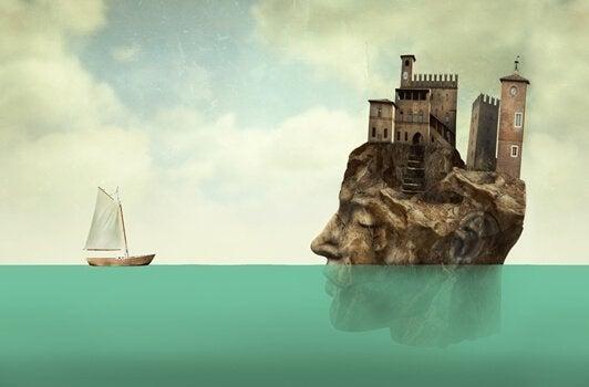 bateau allant vers une ile