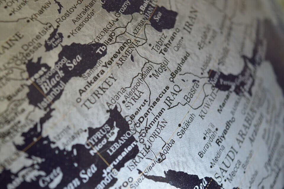 organisation de la géopolitique