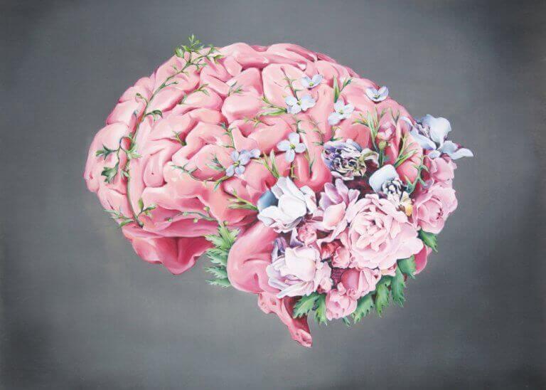 cerveau fleuri