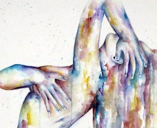 corps d'une femme