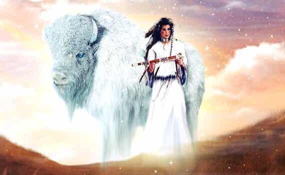 La femme bison blanc, une merveilleuse légende des Amérindiens