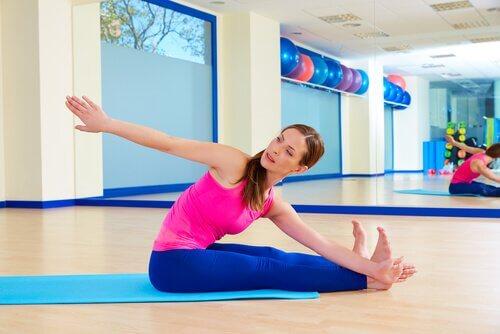 exercices de Pilates pour débutants