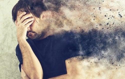 homme et anxiété