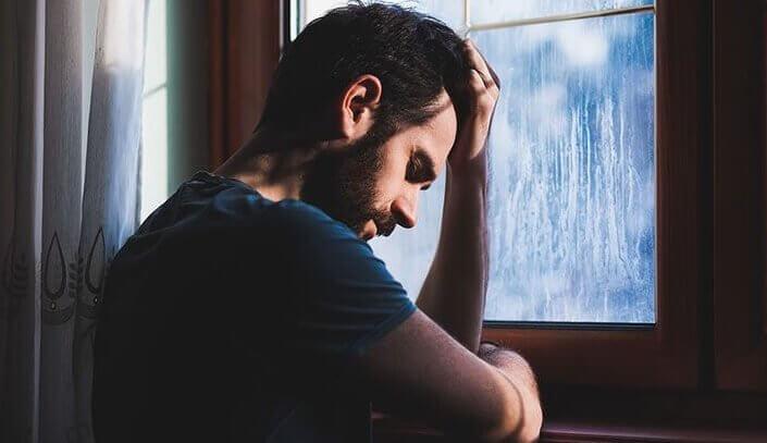 symptômes de la dépression chez un homme