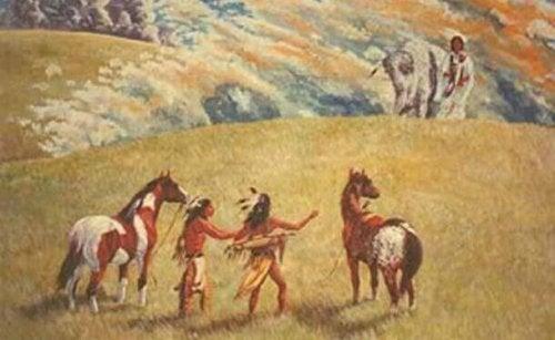 groupe d'iindiens