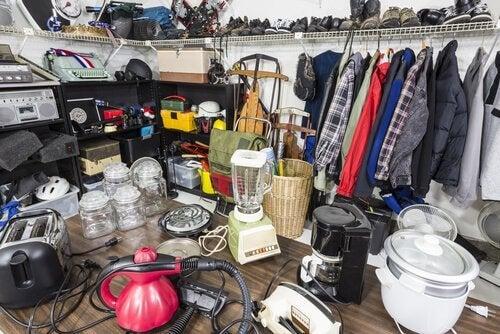objets accumulés
