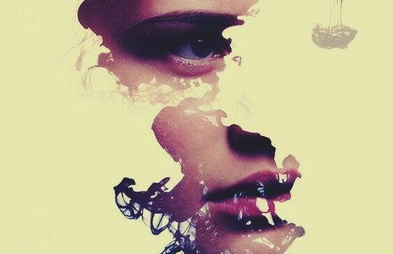 fragment de visage