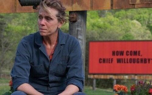 Frances McDormand dans Three Billboards Les Panneaux de la vengeance