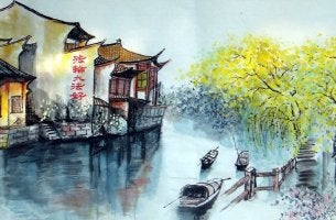 aquarelle chinoise