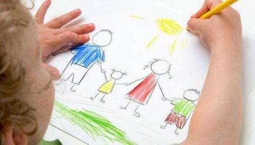 dessin de famille