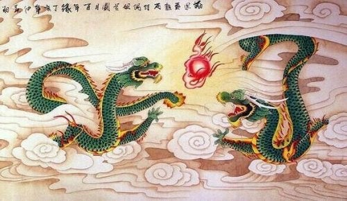 dragons et fables chinoises
