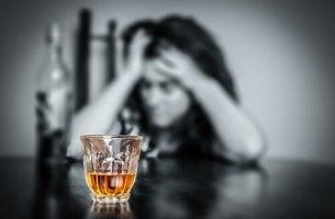femme alcoolique