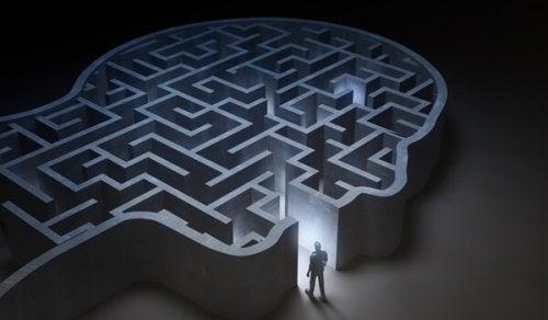 labyrinthe dans un esprit