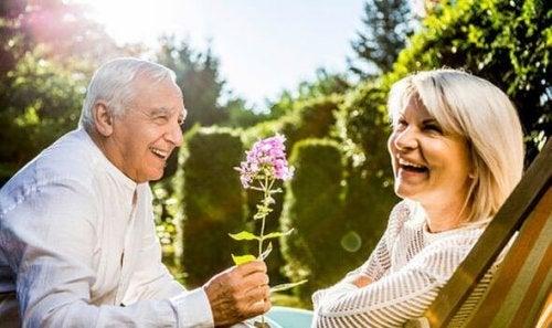 le troisième âge et la romance
