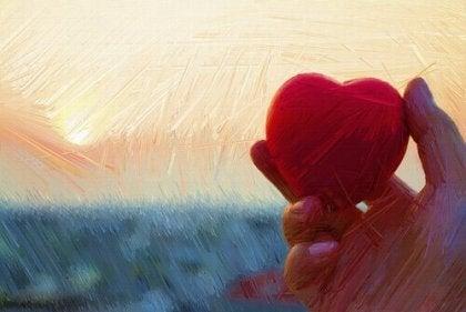embrasser avec le regard et avec le coeur