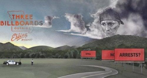 affiche du film Three Billboards Les Panneaux de la vengeance