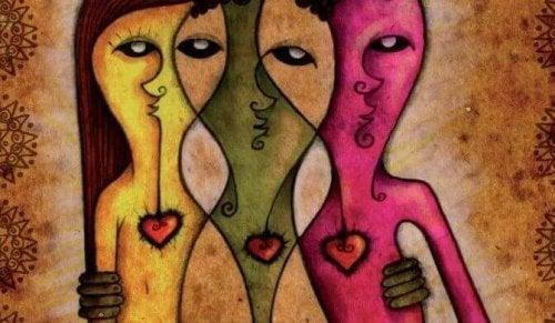 eudémonisme de trois personnes