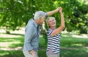 personnes âgées en bonne santé