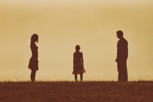 relation de couple des parents compliquée
