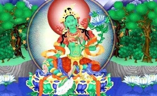 Le mantra de la Tara verte:  une pratique libératrice