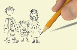 test du dessin de la famille