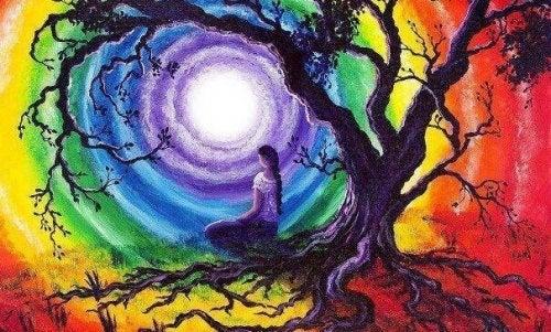 arbre et femme