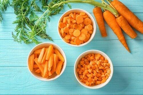 carottes : vitamines pour le cerveau