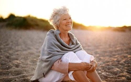 bonheur des personnes âgées