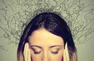 femme avec anxiété