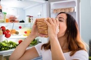 faim due à l'angoisse