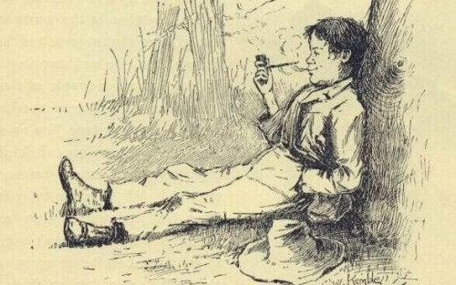 illustration huckleberry finn