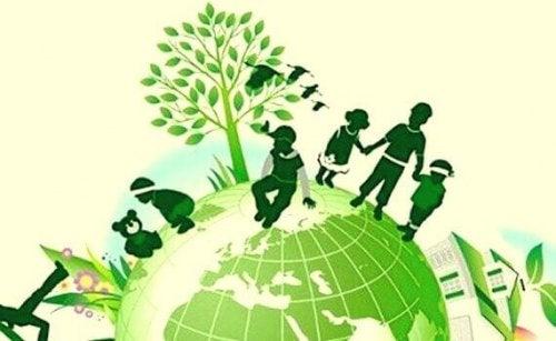 planète verte : l'éducation aux valeurs