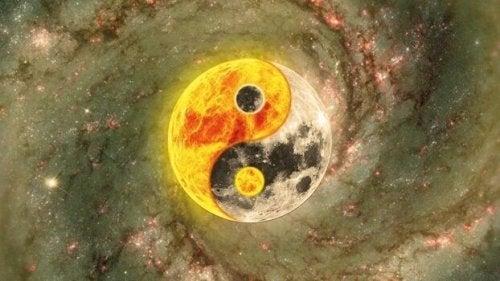yin yang lune et soleil