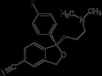 formule chimque de l'escitalopram