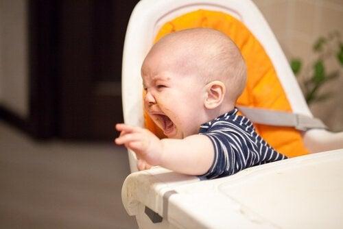 néophobie alimentaire chez un bébé